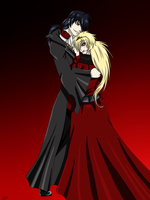 King and Queen by Trickster-Red