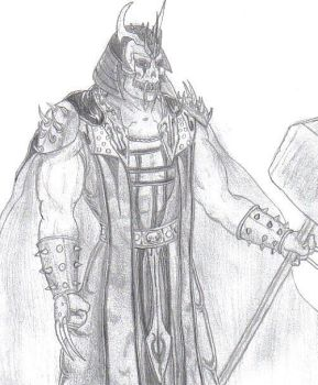 Shao Kahn redesign 2 by TheLordofShadows