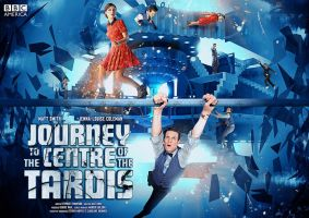Journey to the Centre of the TARDIS poster edit by Kirby-Force