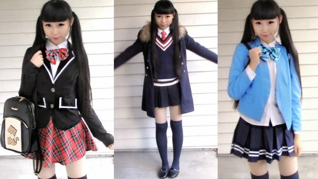 10 Anime Inspired School Uniforms for Fall Winter by YumiKing