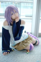 Cosplay: Mizore (Rosario+Vampire) by ReaverSoul666
