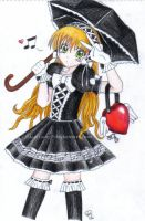 Gothic Lolita-Black ver. by Xiao-Lang