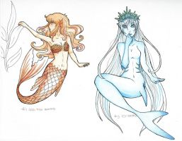 MerMay day 4 and 5... by Conecoo