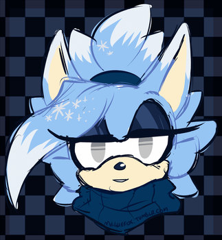 Icy Stare by MellieFox