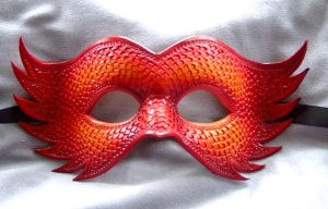 Firebird - Leather Mask. by xothique