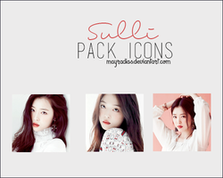 Sulli - Icons by mayradias