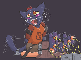 Night in the Tickle Dungeon by Caroos-Dungeon