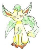 Leafeon Drawing by asdfg21