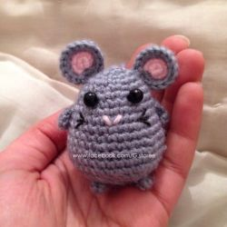 Cute little mouse amigurumi by GehadMekki