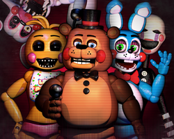 FNAF 2 - The Toys by GamesProduction
