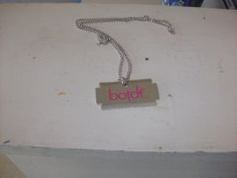 Blood On The Dance Floor Necklace by A7XFan666