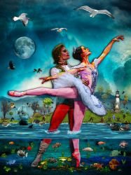 Blue Moon Ballet A Complete Fiction by BlakeHenryRobson