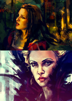 Snow White and the Huntsman by alicexz