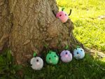 Junimo plushies! by WhimsicalSquidCo