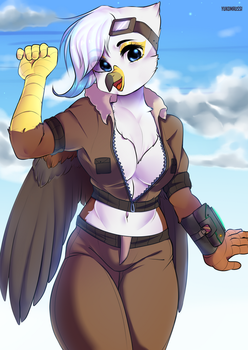 Ych commission for Nhalafallon by yukomaussi