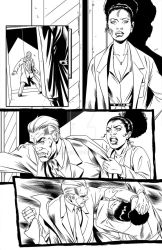 Lion Forge's Superb #14 Inks, page 8 by Almayer
