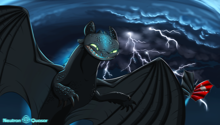 Toothless by Neutron-Quasar
