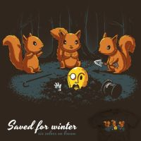 Saved for Winter - tee by InfinityWave