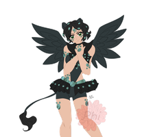 Sailor Black Pearl Sphinx for Cheddi by TheEnchantedPhi