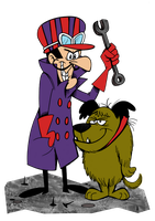 4 Dastardly and Muttley by Granitoons