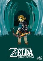 The Legend of Zelda Breath of the Wild by GamerChazz