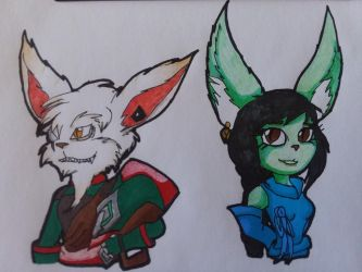 (AT) Kled and Kae by Tiera-The-Yordle
