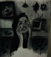 A scene that portrays a creepy feeling by VictoriaElectra