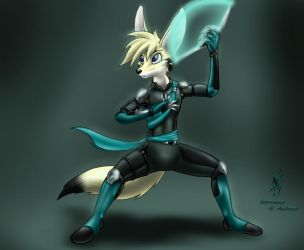R-Force Agent Sirocco by Aelius24