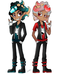 Reference: Octo Bros by Teevz