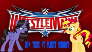 lady taker vs sunset shimmer by LadyTakerFandub