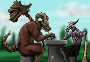 A battle of wits by EnvyMachinery