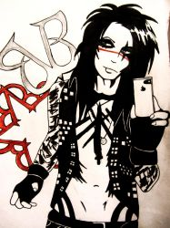 Andy Biersack by DeadInHollywood13