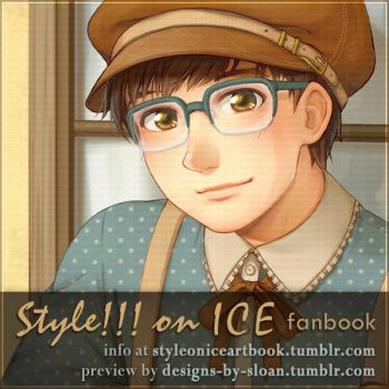 Style!!! on ICE fanbook preview - UPDATE by DesignsBySloan