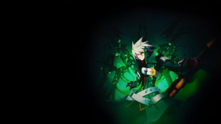 Ragna=The=Bloodedge Wallpaper *GREEN* by blubxer