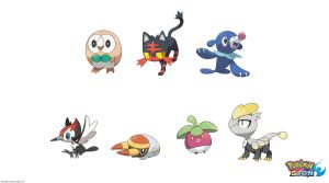 Pokemon: 3-Stage Evolutions - Alola: First Stage