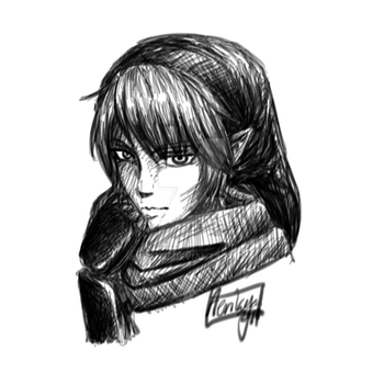 Link Doodle by Veanil