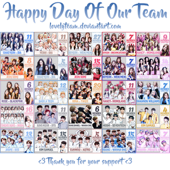 2982017 : Happy Day Of Our Team by Lovelyteam