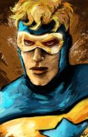Booster Gold by shaunamobley