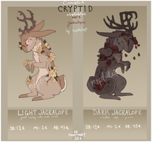 Corrupted Cryptids auction 2 / CLOSED by neptide