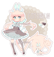 [Adopt] Cottonbun #1 (CLOSED) by Graviilean