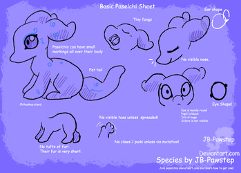 Paselchis - Species Sheet by JB-Pawstep