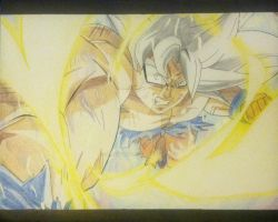 MUI Goku - Angry Punch by sparkssummons01