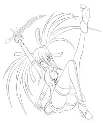 Felly Lineart by Xenosnake