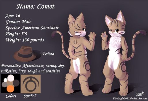 Comet [Commission] by FireEagle2015