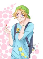 Mystic Messenger - Yoosung (Glasses Version) by DaphInteresting