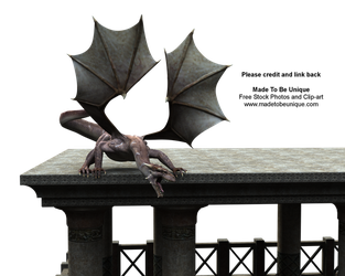 FREE 3d MAD Stock Dragon png by madetobeunique