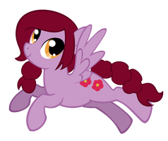COMMISSION Petunia Petal the Pegasus by Angelkitty17