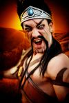 Gladiator Draven - League of Legends Cosplay by LC by LeonChiroCosplayArt