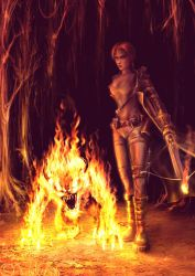 .flame. by dypsomaniart
