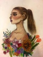 Flower child by xyuxi